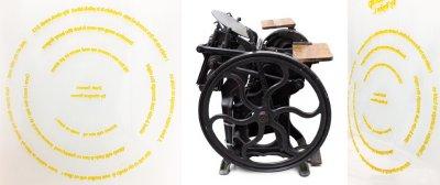 Druckmaschine 19. Jahrhundert