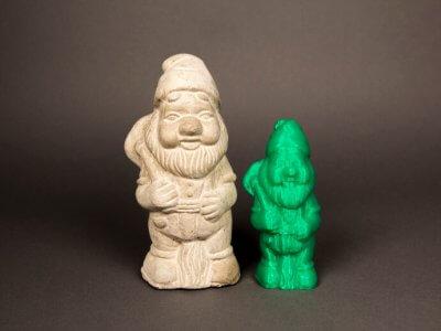 Gartenzwerg aus dem 3D-Drucker