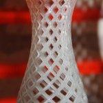 Glasvase aus dem 3D-Drucker