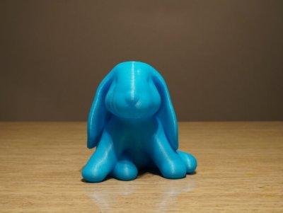 Hase aus 3D-Drucker