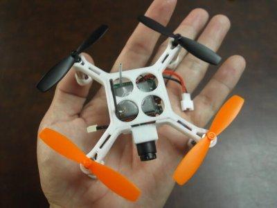 Drohne so groß wie eine Hand