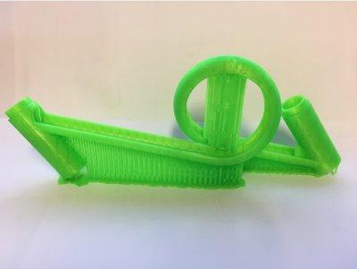 Kugelbahn mit Looping aus dem 3D-Drucker