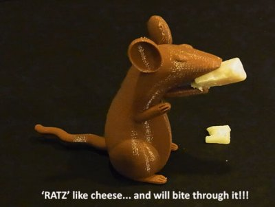 Maus aus 3D-Drucker