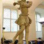 Original Rokoko Feuchtmayer-Skulptur