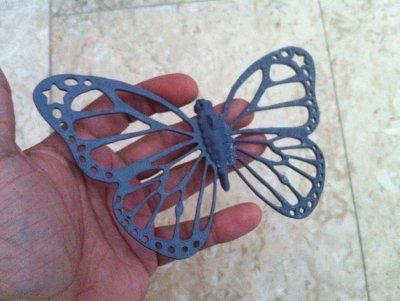Schmetterling aus dem 3D-Drucker