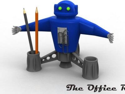 Roboter-Stiftehalter