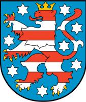 Thüringen Wappen