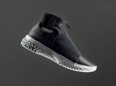 Under Armours 3D-gedruckte Schuhsohle