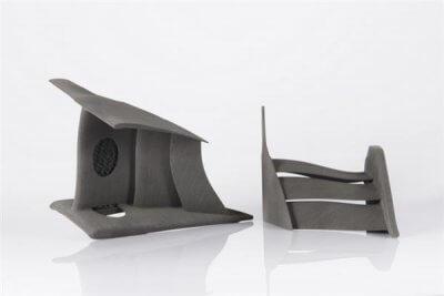3D-gedruckte Teile für Frontkaskaden.