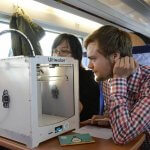3D-Drucker im Zug