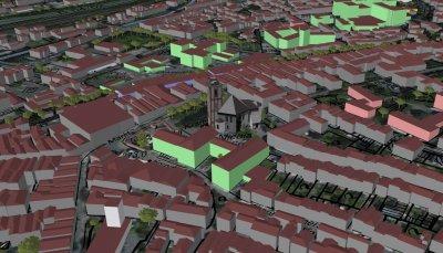 3D Stadtmodell von Siegen