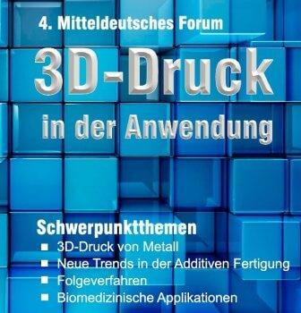 Flyer 4. Mitteldeutsches Forum