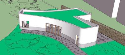3D-gedrucktes Haus