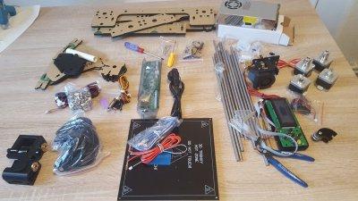 Einzelteile Acrylic 3DCSTAR P802-MHS