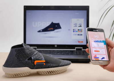 App für 3D-gedruckte Schuhe