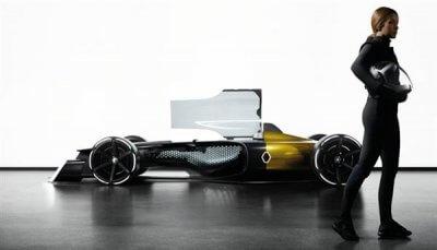 Formel-1-Wagen von Renault