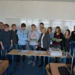 Schüler mit 3D-Druck-Modell