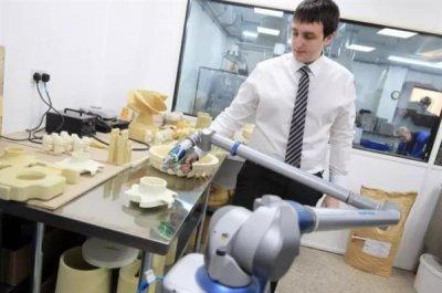 Neue Technologie in der Guss-Fabrik