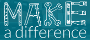 "Logo ""Make a difference"""