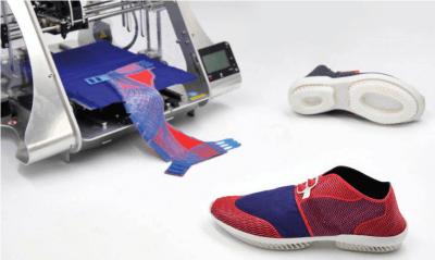 ZMorph Multitool 3D-Drucker mit Schuhen