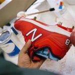 New Balance Baseball Schuh mit Stollen aus dem 3D-Drucker