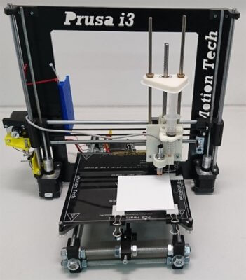 Prusa i3 mit Modifikationen.