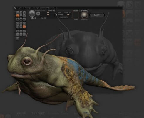 Screenshot Sculptris