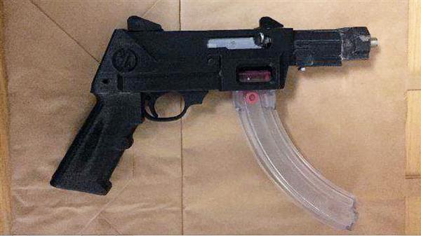Waffe aus dem 3D-Drucker
