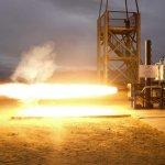 Test Raketenstart
