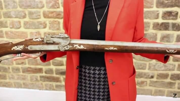 Antikes Gewehr aus dem 3D-Drucker