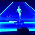 Cortana-Hologramm