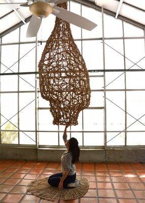 3D-gedrucktes Nest