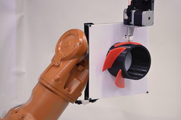 Gelenkroboter als 3D-Drucker