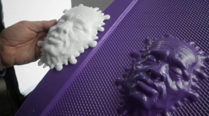 3D-Objekt mit k-top gedruckt
