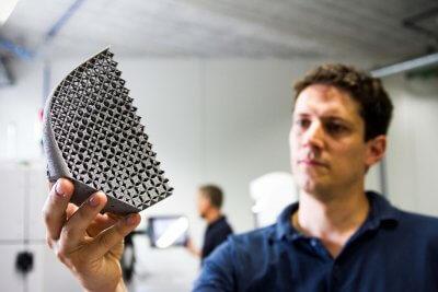 Leichtbauobjekt aus dem 3D-Drucker