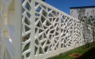 Mauer aus dem 3D-Drucker