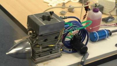 3D-gedruckter Motor für Flugzeuge