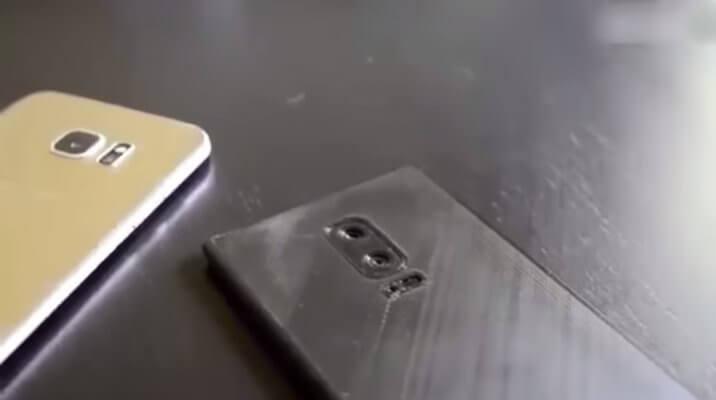Samsung Galaxy Note 8 aus 3D-Drucker