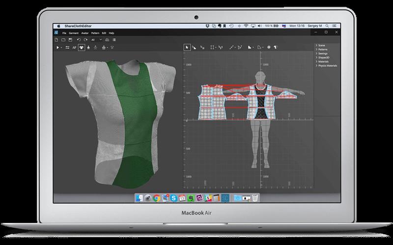 ShareCloth: Software für 3D-Modellierung von Kleidung aus 3D-Drucker