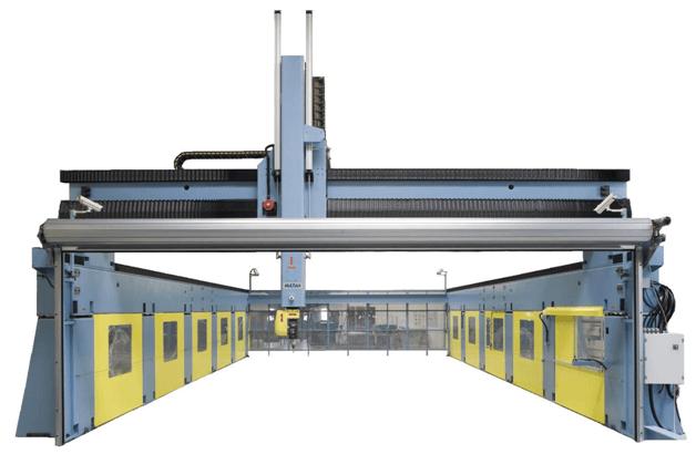 Riesiger Metall 3D-Drucker