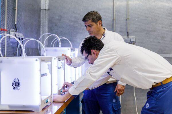 Volkswagen nutzt Ultimaker 3D-Drucker