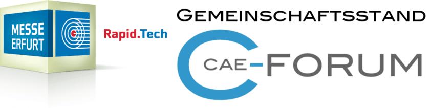 Log CAE-Forum und Rapid.Tech