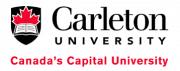 Carleton University Ottawa Logo