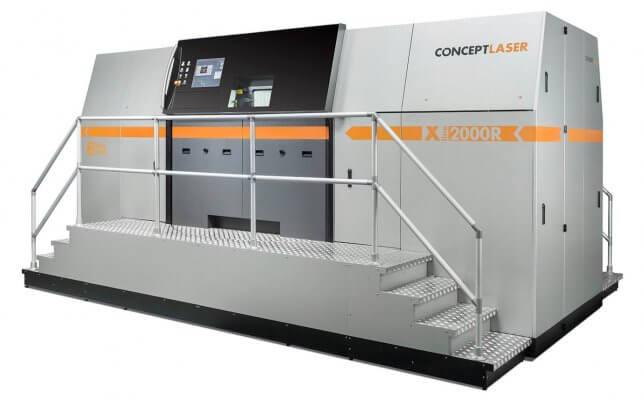 Concept Laser X-Line 2000R SLM-3D-Drucker