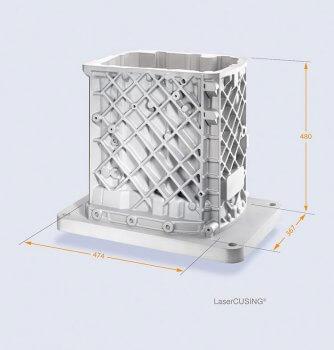 Getriebekasten aus dem 3D-Drucker