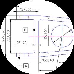 KeyCreator Software öffnet 2D-Modell
