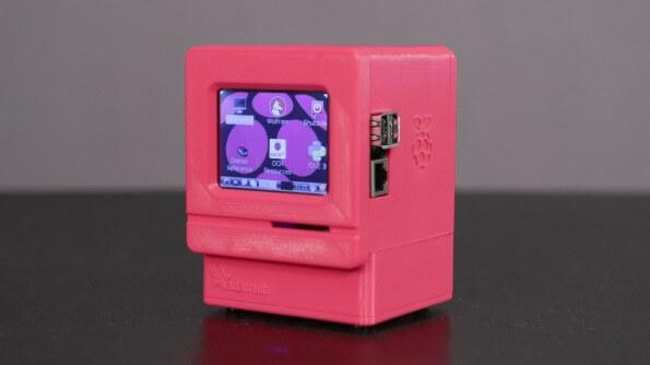 Apple schreibtisch bauen  Apple II Mini aus dem 3D-Drucker zum selber bauen im Retro-Look