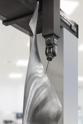 Revo-2-Messtechnologie kontrolliert Turbinenflügel