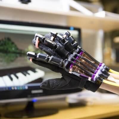 Roboterhandschuh aus dem 3D-Drucker