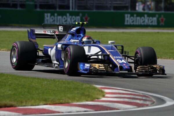 Sauber F1 Team Rennwagen
